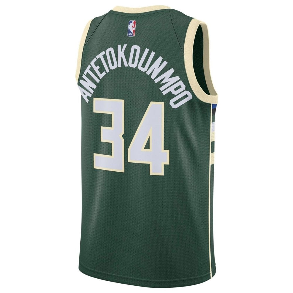 differently 50adc ce0cb Nike NBA Milwaukee Bucks Giannis Antetokounmpo Swingman Jersey - Icon  Edition