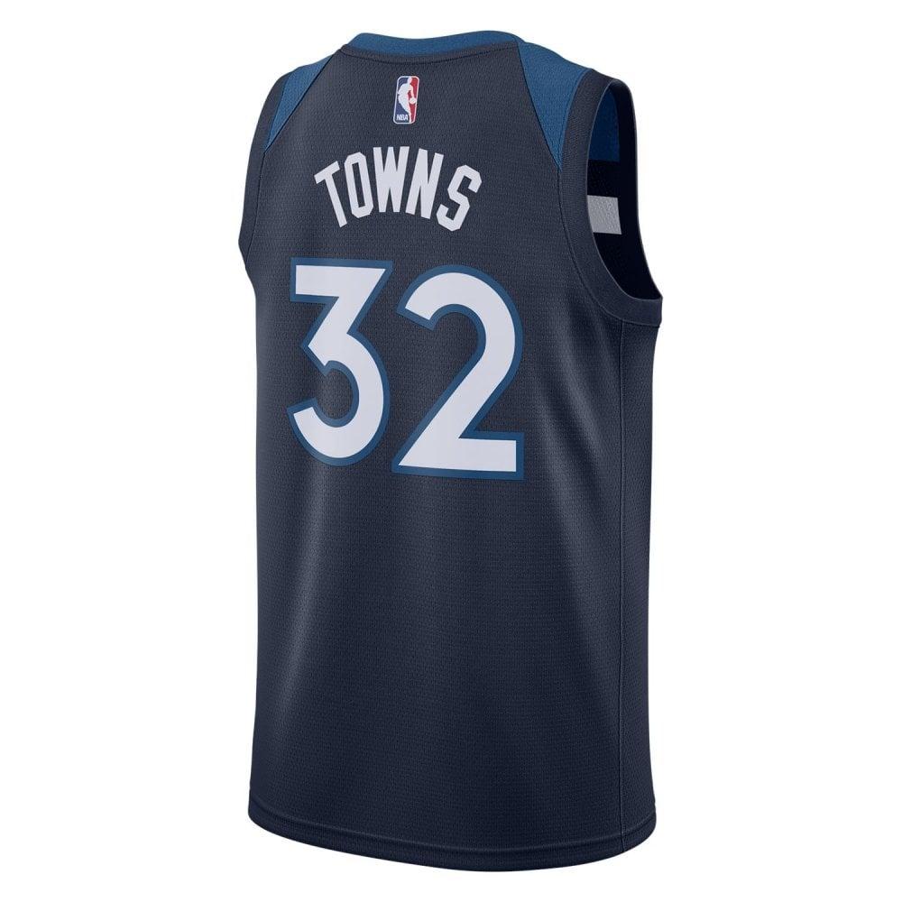 designer fashion 6570b 39d13 Nike NBA Minnesota Timberwolves Karl-Anthony Towns Swingman Jersey - Icon  Edition