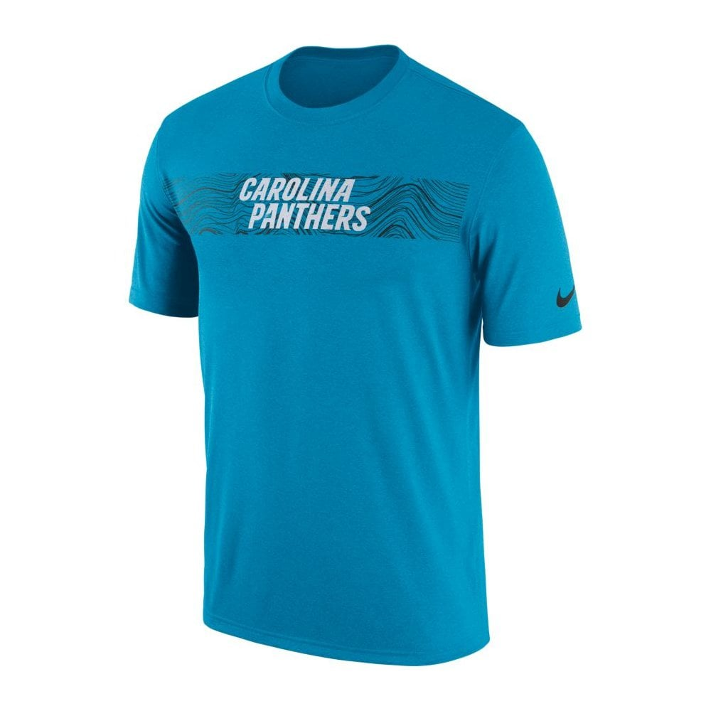 2df435341 Nike NFL Carolina Panthers Sideline Seismic Legend Performance T ...