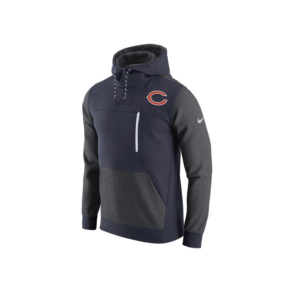 Discount Nike NFL Chicago Bears AV15 Fleece Pullover Hoodie Teams from USA