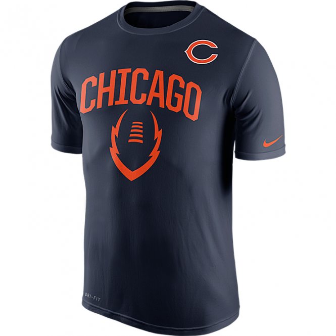 Nike NFL Chicago Bears Legend Icon Dri-Fit T-Shirt