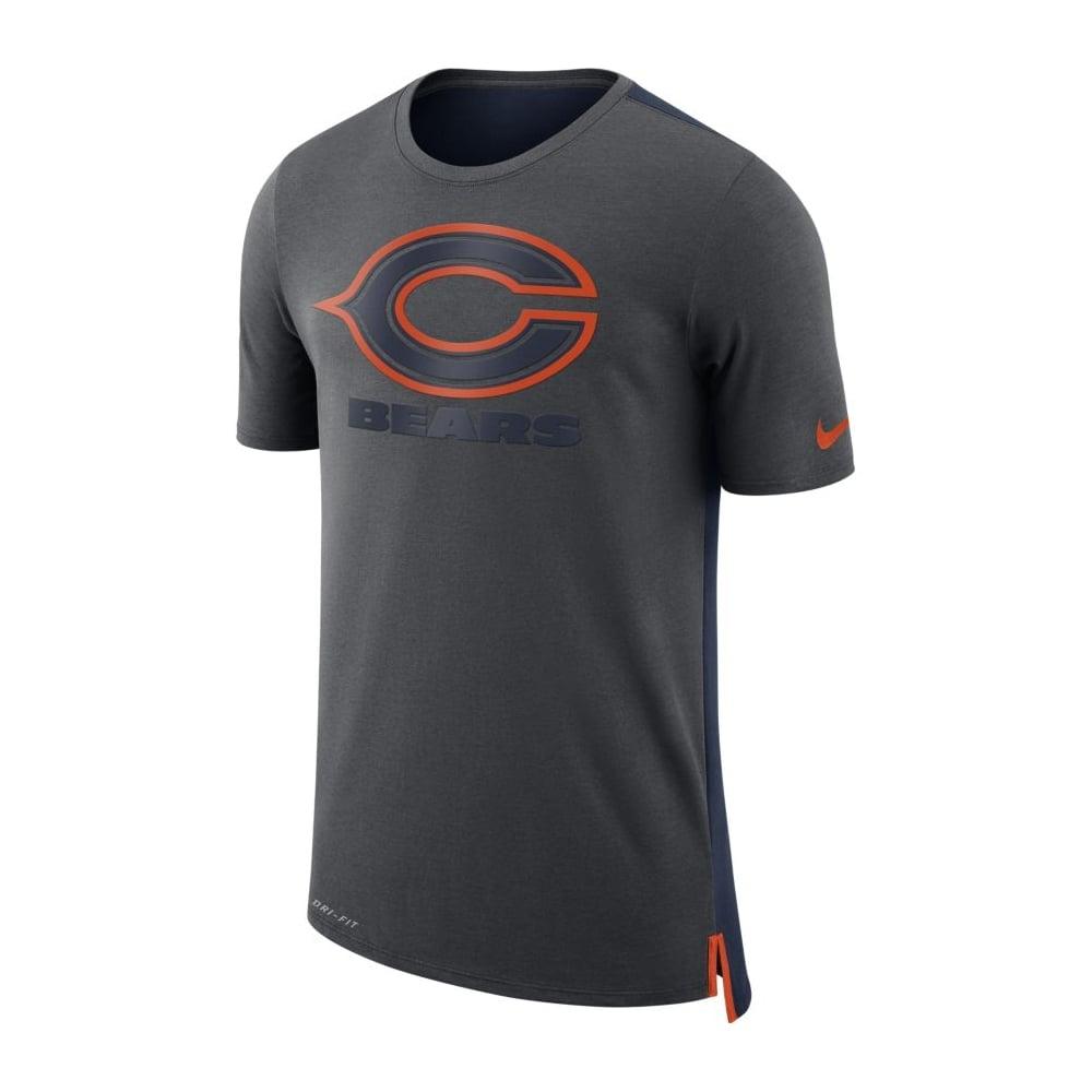 7031e875 NFL Chicago Bears Travel Mesh Dri-Fit T-Shirt