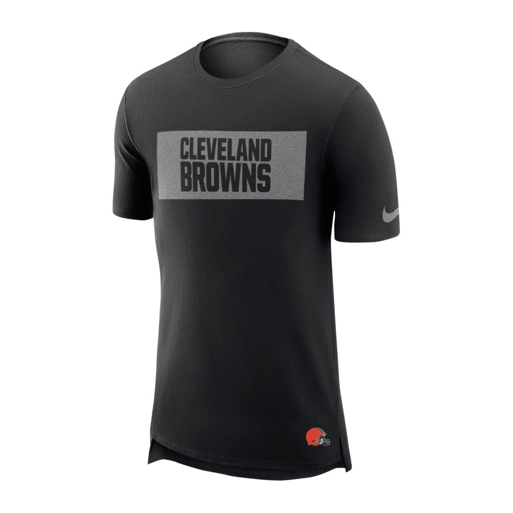 lowest price d6880 8ab7e NFL Cleveland Browns Enzyme Droptail Logo T-Shirt