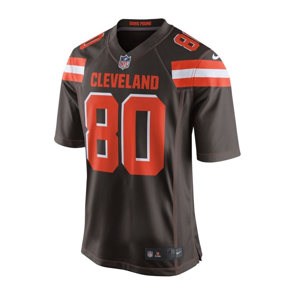 detailed look 50312 98a67 NFL Cleveland Browns Home Game Jersey - Jarvis Landry