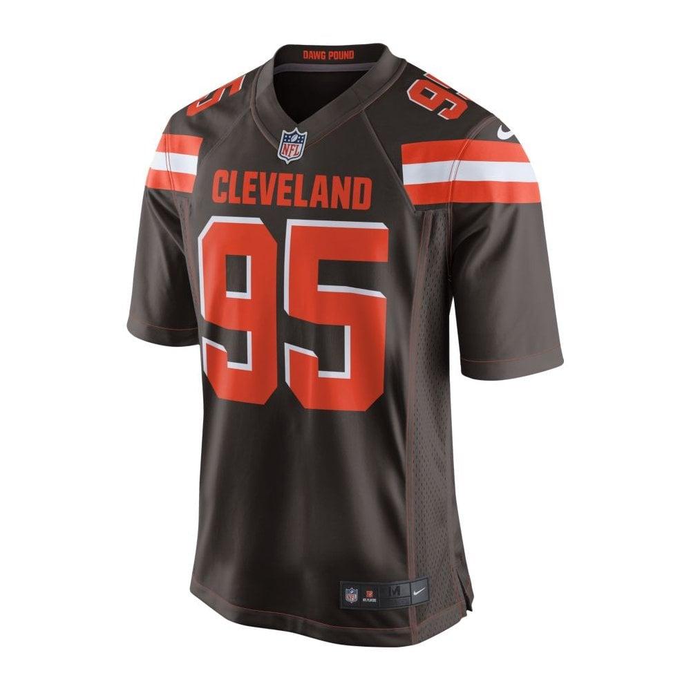 new arrivals 142d4 26818 NFL Cleveland Browns Home Game Jersey - Myles Garrett