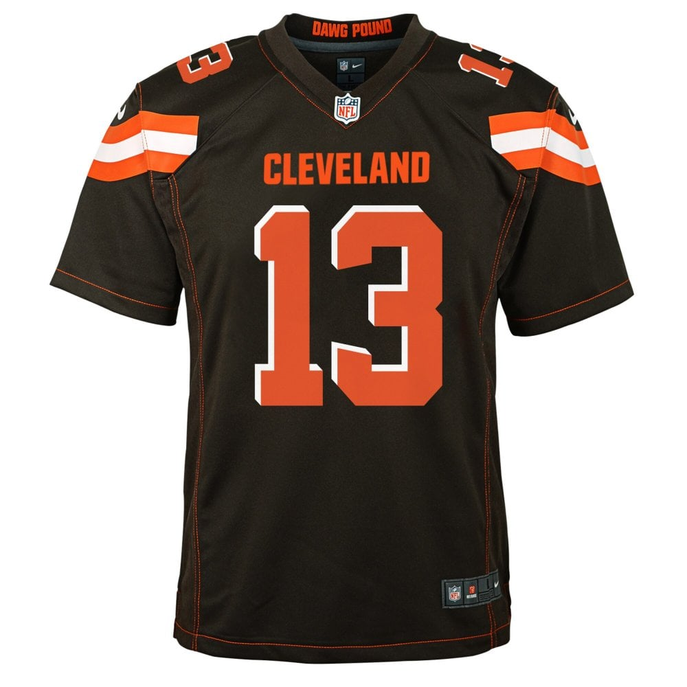 cleveland browns game jersey