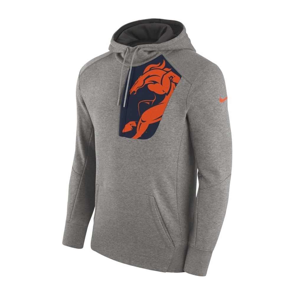 outlet store 2b076 43040 NFL Denver Broncos Fly Fleece CD PO Hoodie