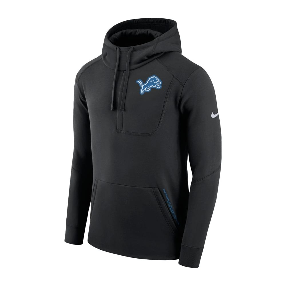 huge selection of 46b31 65dc5 black detroit lions hoodie