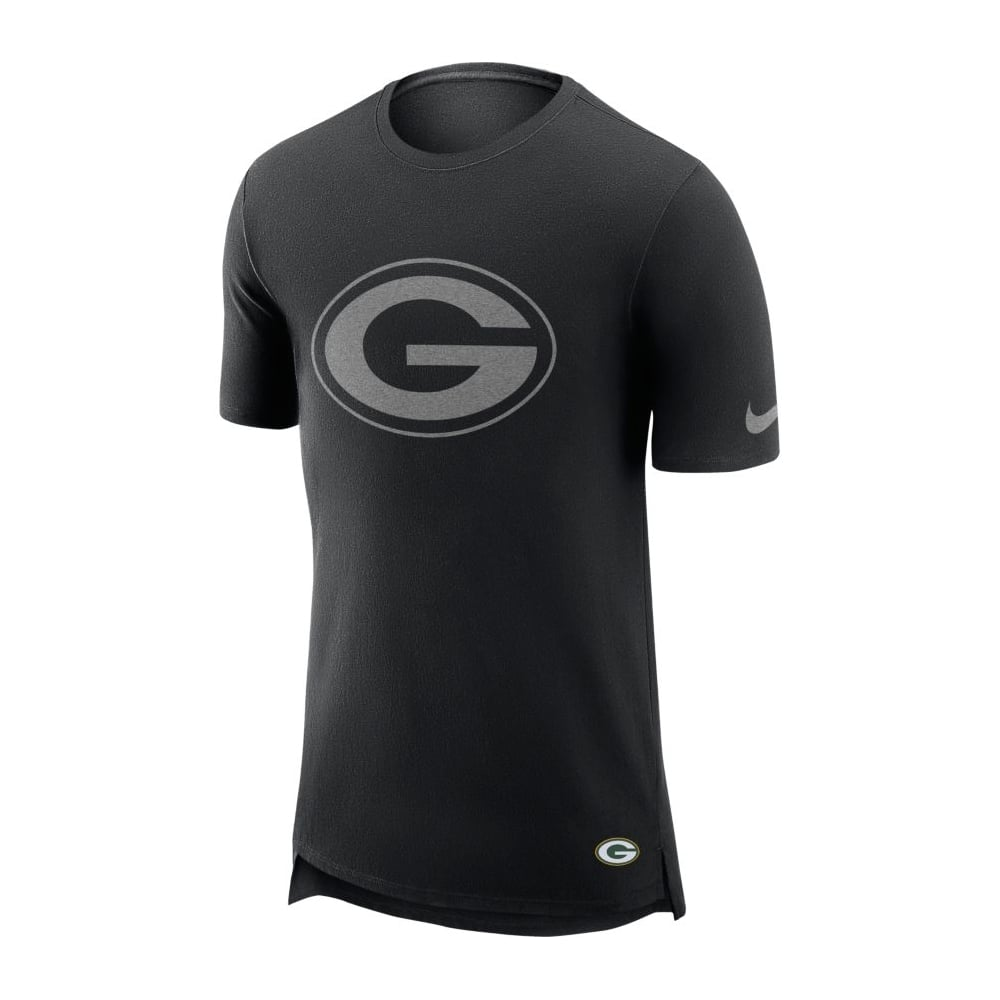 Nike NFL Green Bay Packers Enzyme Droptail Logo T-Shirt - Teams from ... 5f5a2ab54