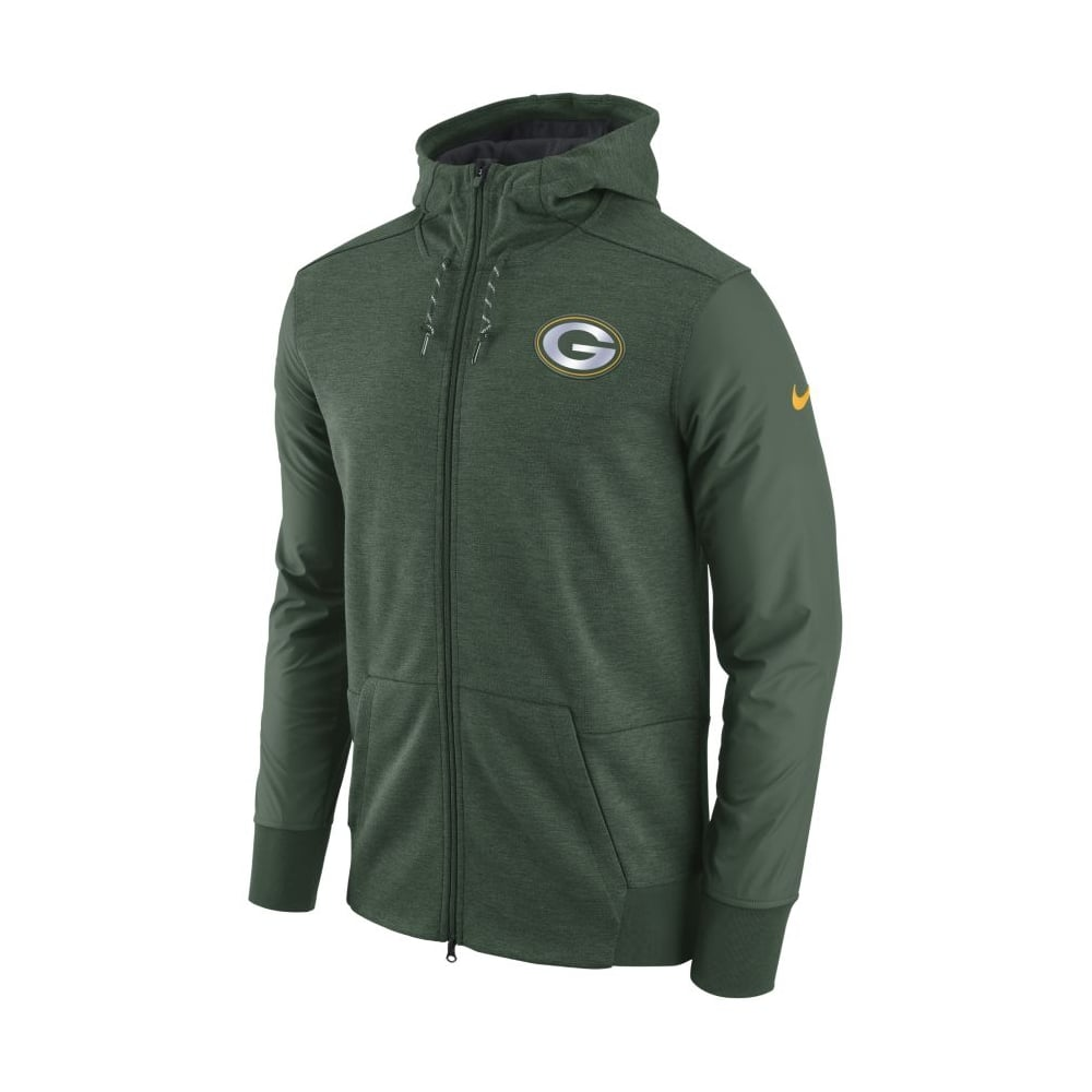 sports shoes aaff0 4da27 NFL Green Bay Packers FZ Travel Hoodie