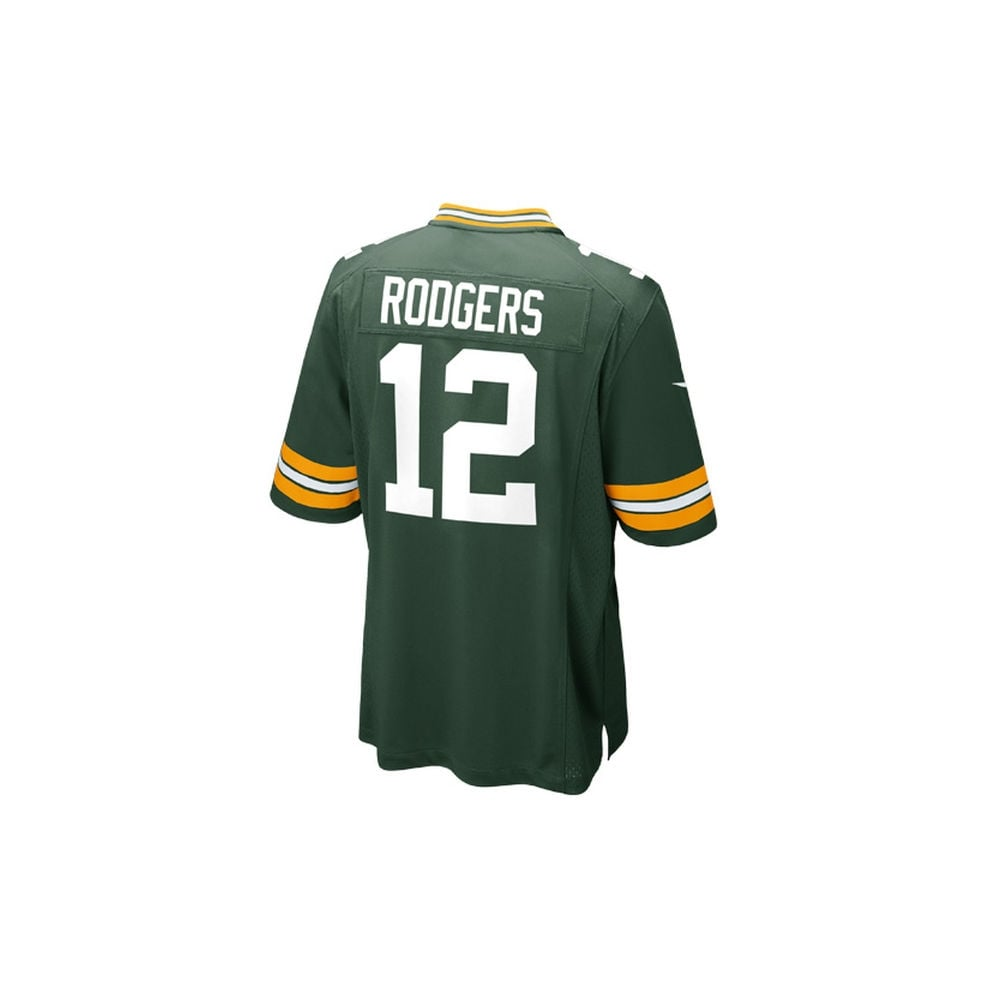 new concept d07b3 7611d NFL Green Bay Packers Home Game Jersey - Aaron Rodgers