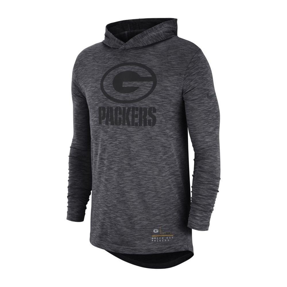 Top Nike NFL Green Bay Packers Slub Long Sleeve T Shirt Hood Teams  supplier