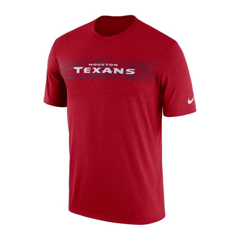 3448453ee Nike NFL Houston Texans Sideline Seismic Legend Performance T-Shirt ...