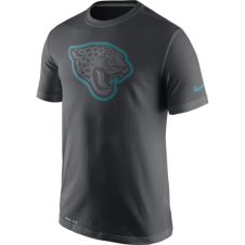 NFL Jacksonville Jaguars Anthracite Travel T-Shirt