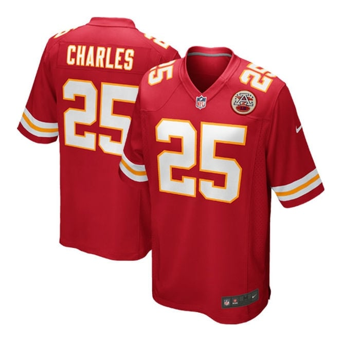 Nike NFL Kansas City Chiefs Home Game Jersey - Jamaal Charles