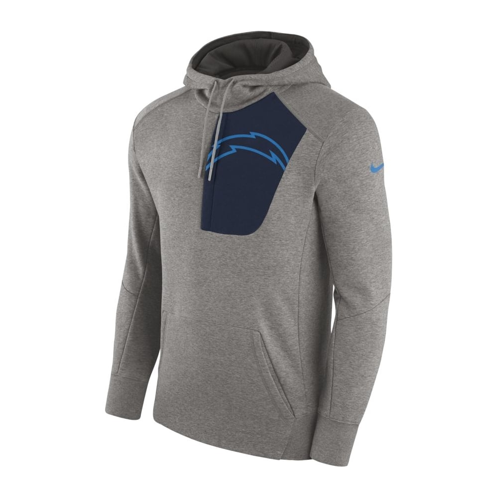 ea322ec6e Nike NFL Los Angeles Chargers Fly Fleece CD PO Hoodie - Teams from ...