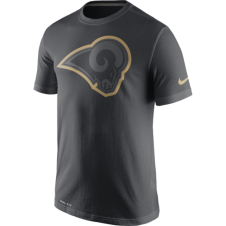 NFL Los Angeles Rams Anthracite Travel T-Shirt