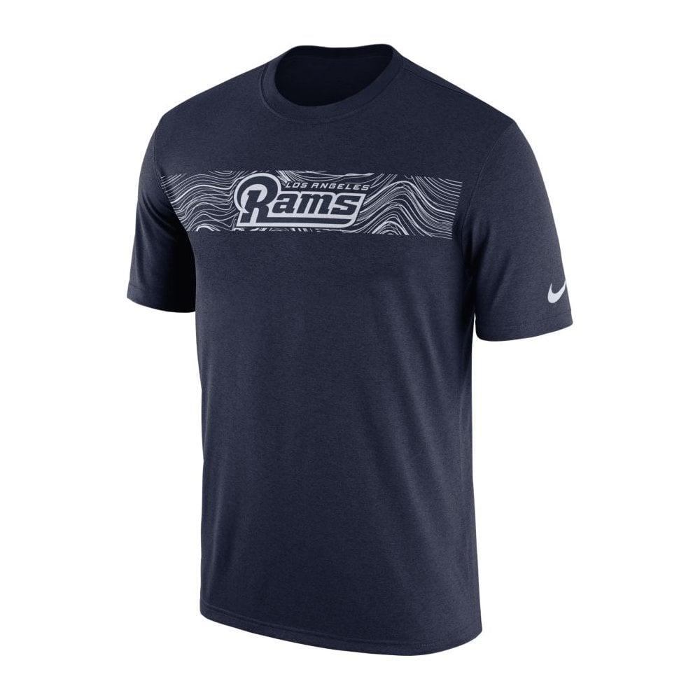Nike NFL Los Angeles Rams Sideline Seismic Legend Performance T ... 93b1a98e8c8