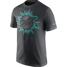 NFL Miami Dolphins Anthracite Travel T-Shirt
