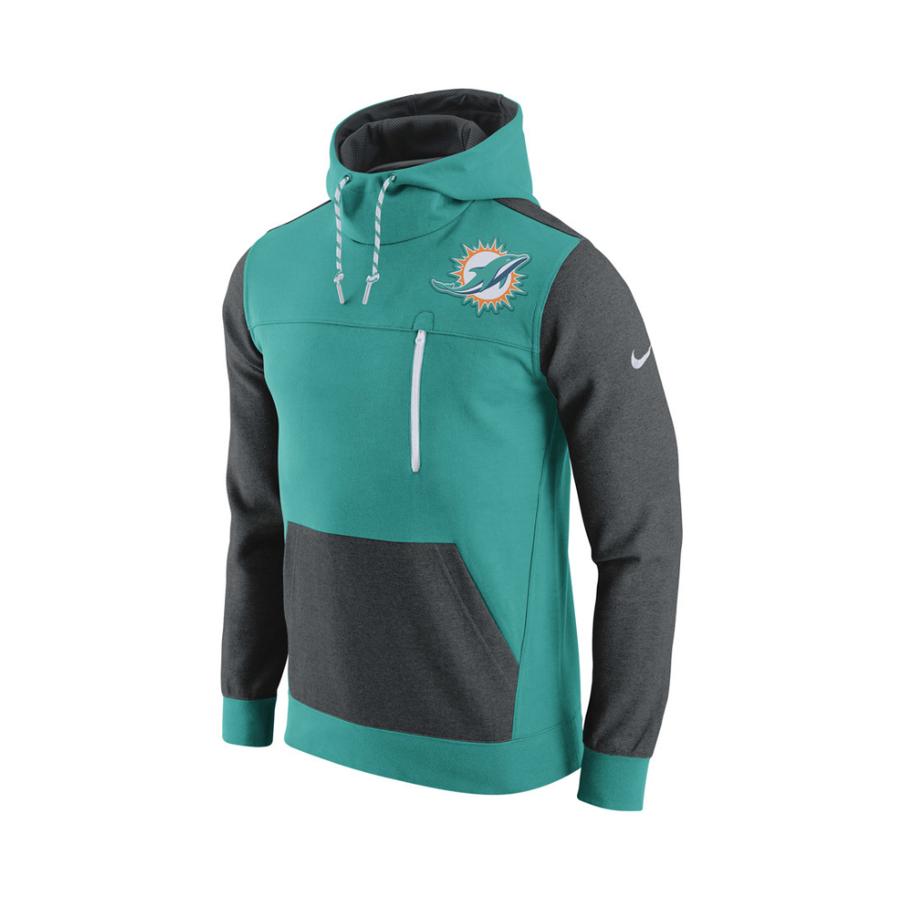 abcd8d6fa Nike NFL Miami Dolphins AV15 Fleece Pullover Hoodie - Teams from USA ...