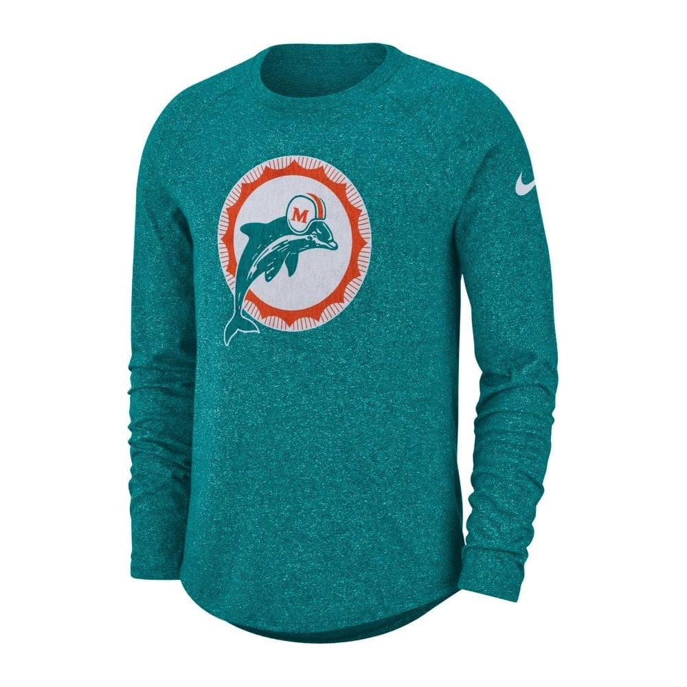 new photos buy good official photos NFL Miami Dolphins Historic Raglan Long Sleeve T-Shirt