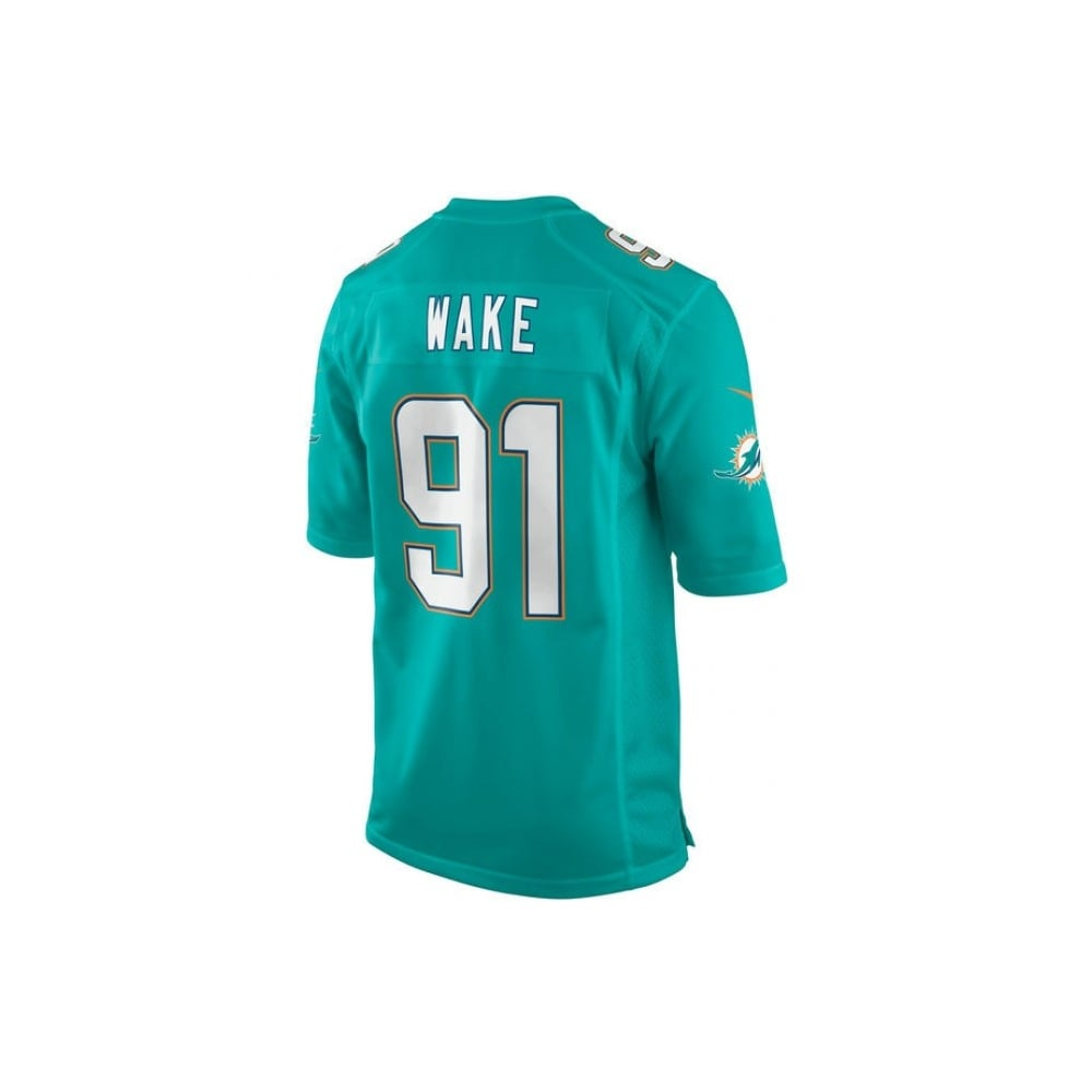 size 40 1ccc3 e1d79 Nike NFL Miami Dolphins Home Game Jersey - Cameron Wake