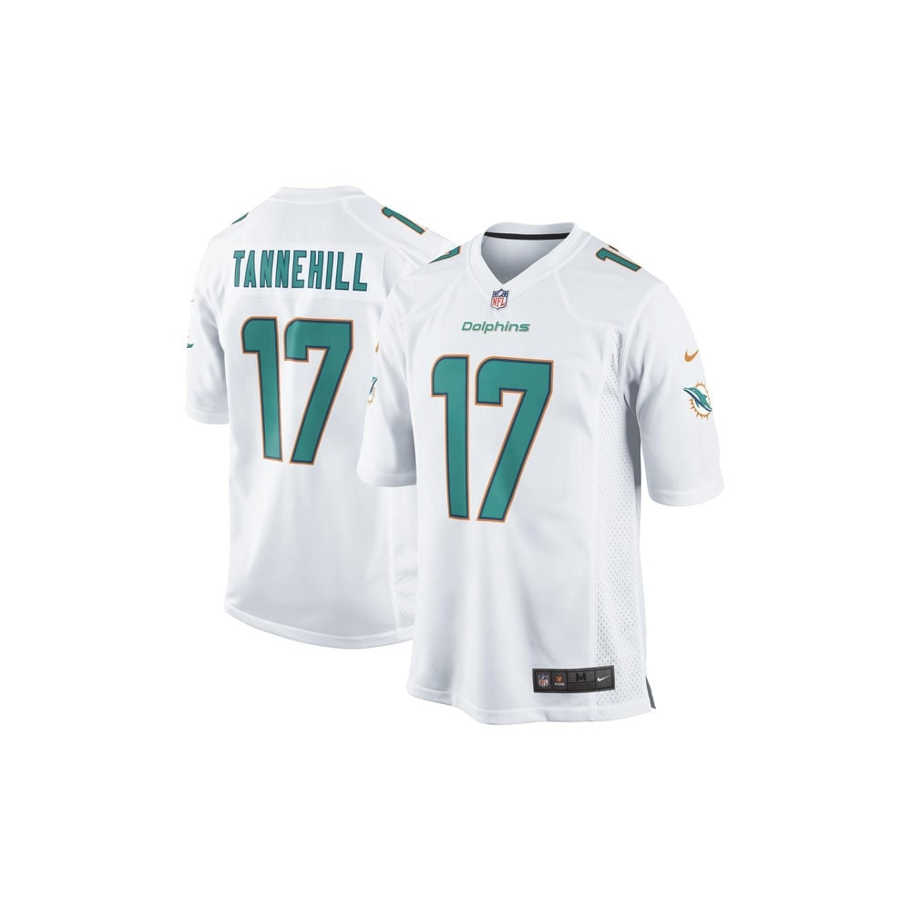Nike NFL Miami Dolphins Road Game Jersey - Ryan Tannehill - Teams ... 59639a82a35