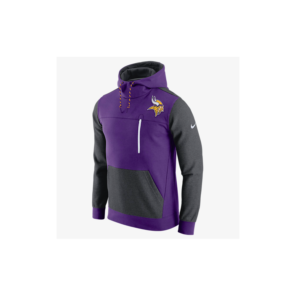 3ce504dee Nike NFL Minnesota Vikings AV15 Fleece Pullover Hoodie - Teams from ...