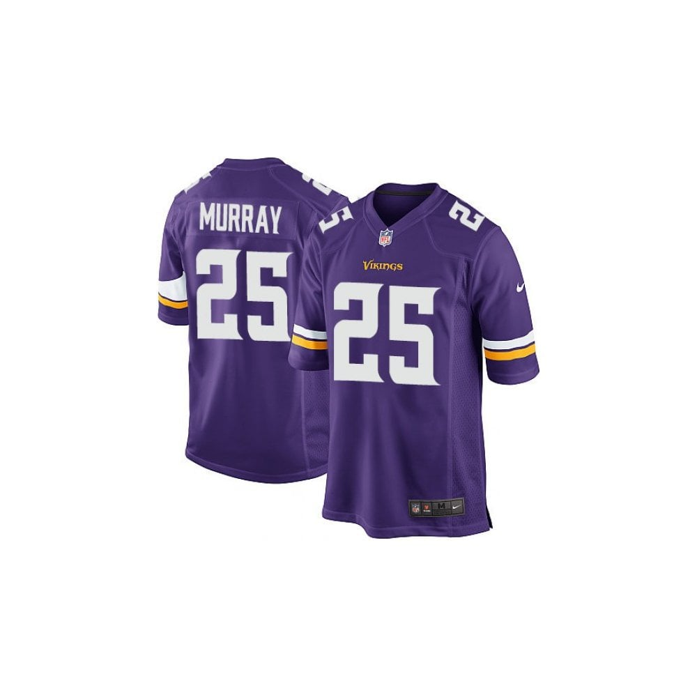 detailed look b138e 68dff Nike NFL Minnesota Vikings Home Game Jersey - Latavius Murray