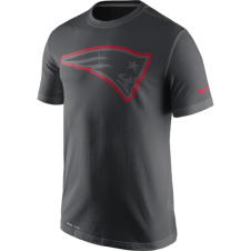 NFL New England Patriots Anthracite Travel T-Shirt