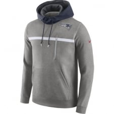 NFL New England Patriots Champ Drive Pullover Hood