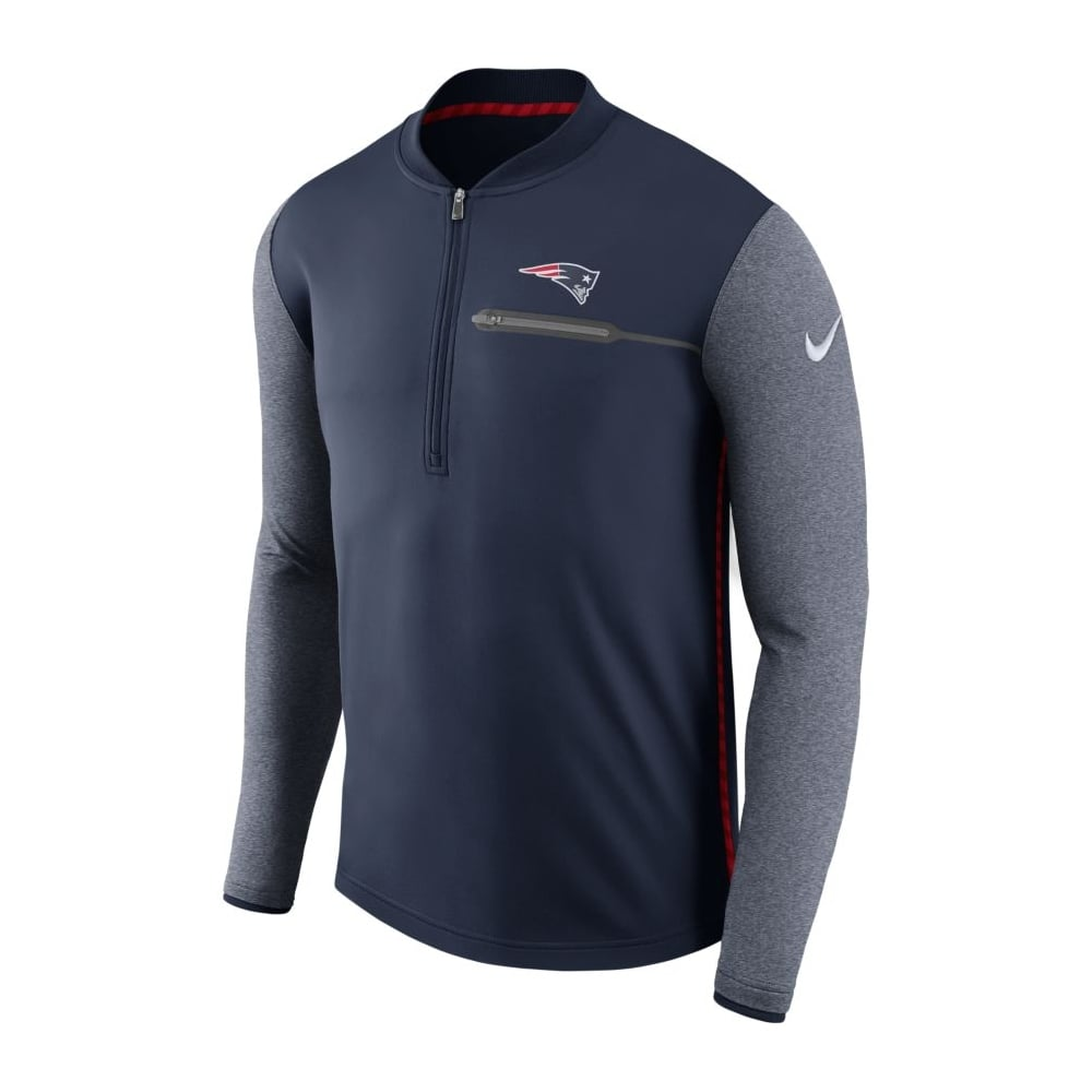 newest collection 481b4 3a37a NFL New England Patriots Half-Zip Coach Top