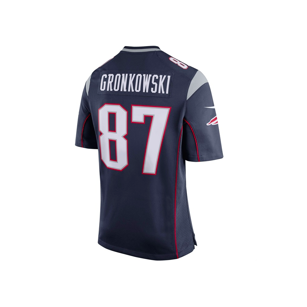 size 40 30cce 677c6 NFL New England Patriots Home Game Jersey - Rob Gronkowski