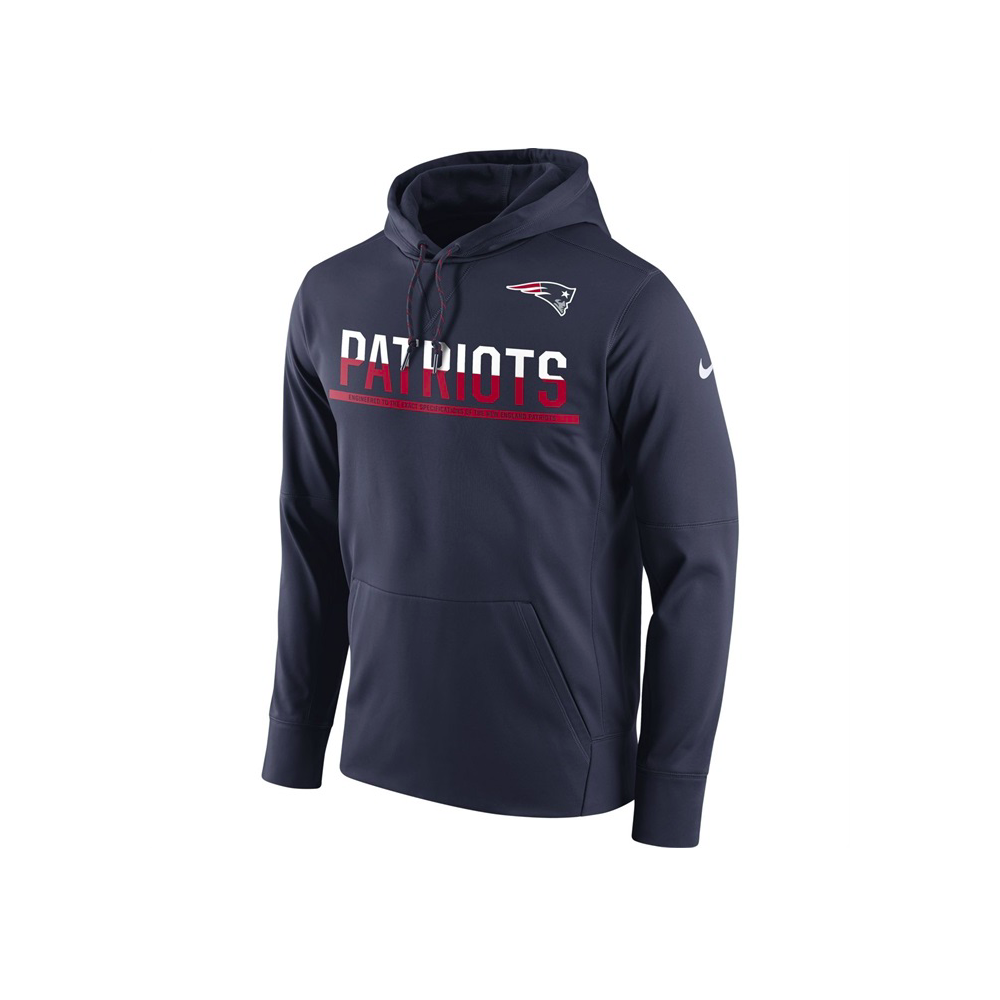 550785b6b Nike NFL New England Patriots Sideline Circuit Pullover Performance ...