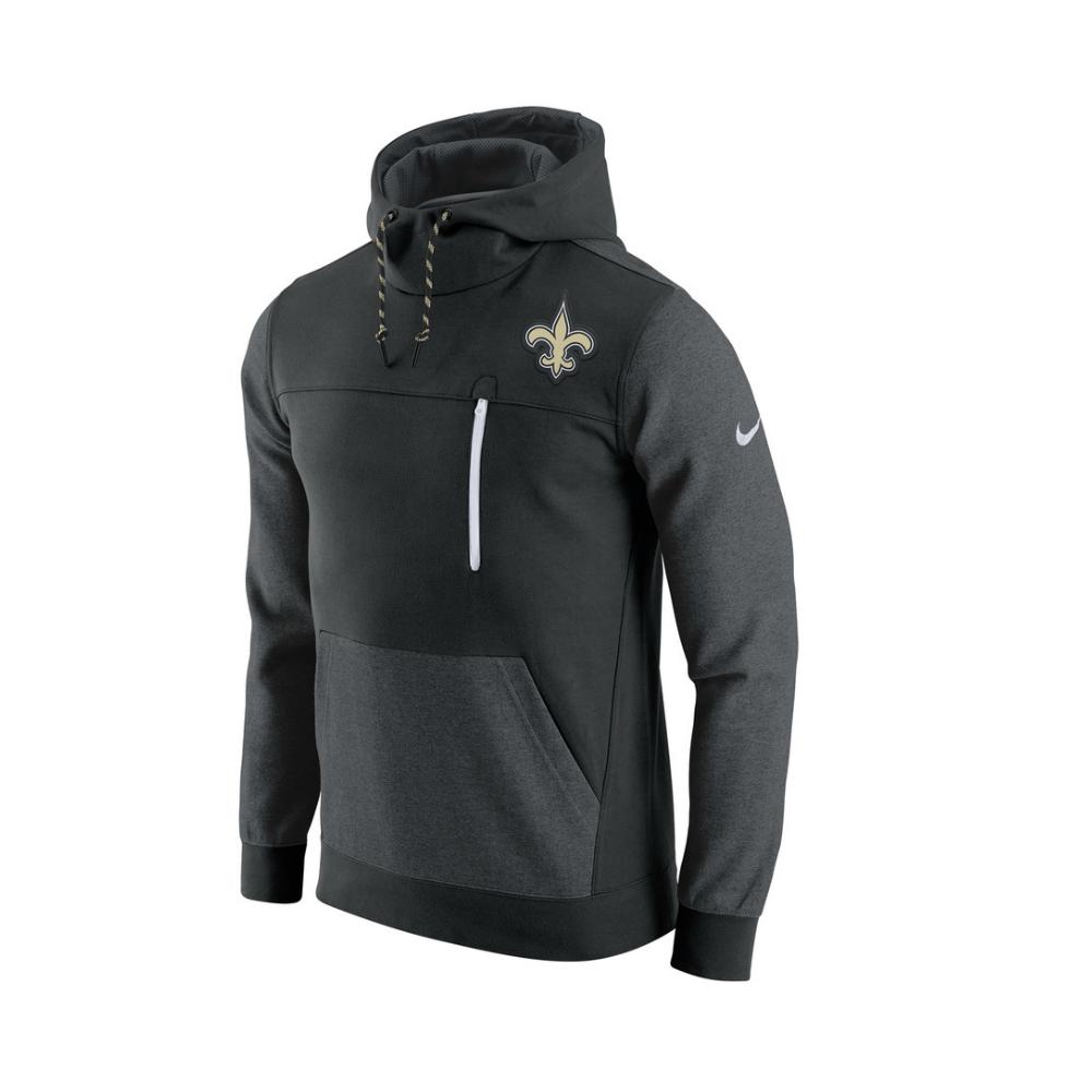 quality design b7336 b361f NFL New Orleans Saints AV15 Fleece Pullover Hoodie