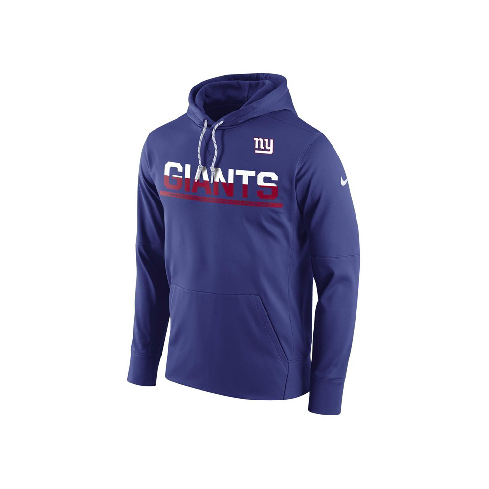 b64a1568a20 Nike NFL New York Giants Sideline Circuit Pullover Performance ...
