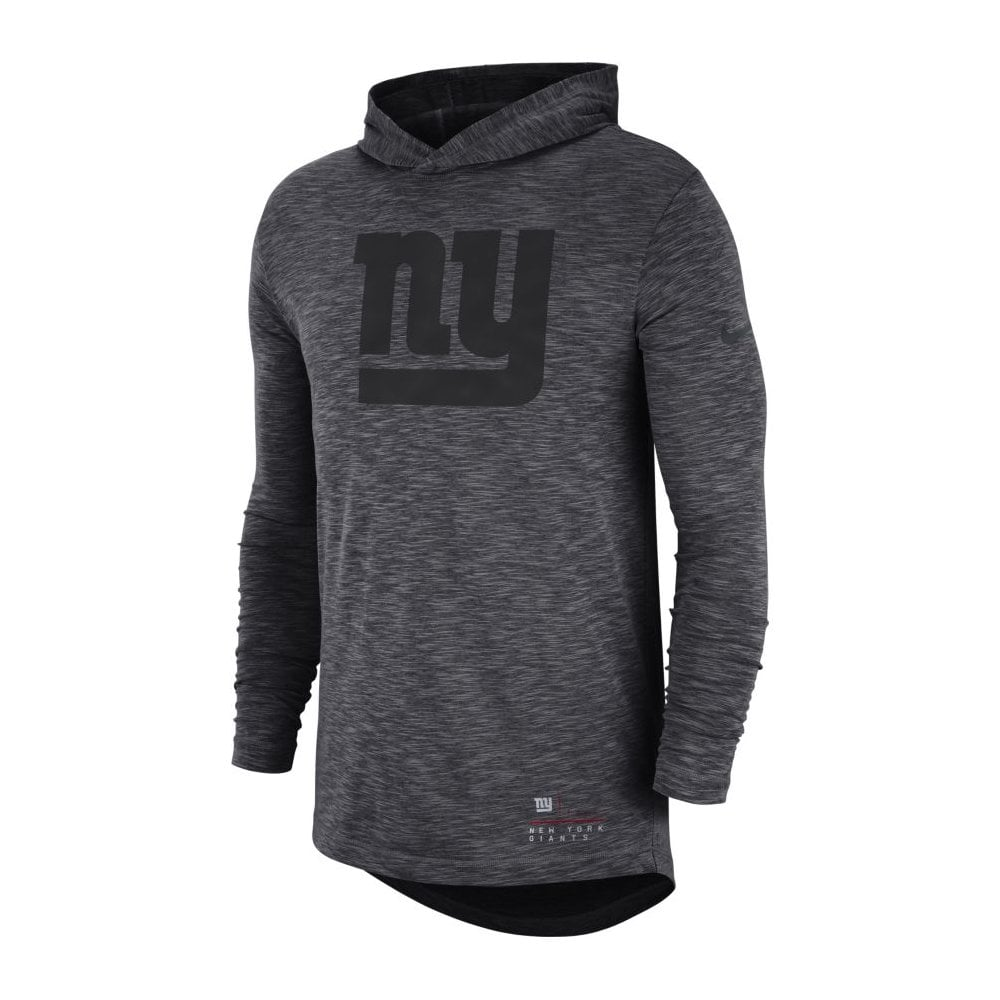 c6f99cb88bf Nike NFL New York Giants Slub Long Sleeve T-Shirt Hood - Teams from ...