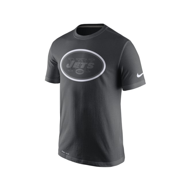 Nike NFL New York Jets Anthracite Travel T-Shirt