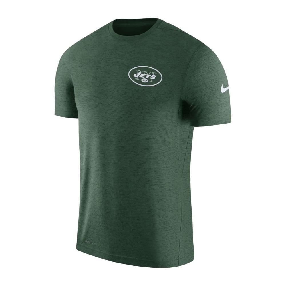 Nike NFL New York Jets Coach Dri-Fit T-Shirt - Teams from USA Sports UK 1f003bfa12d
