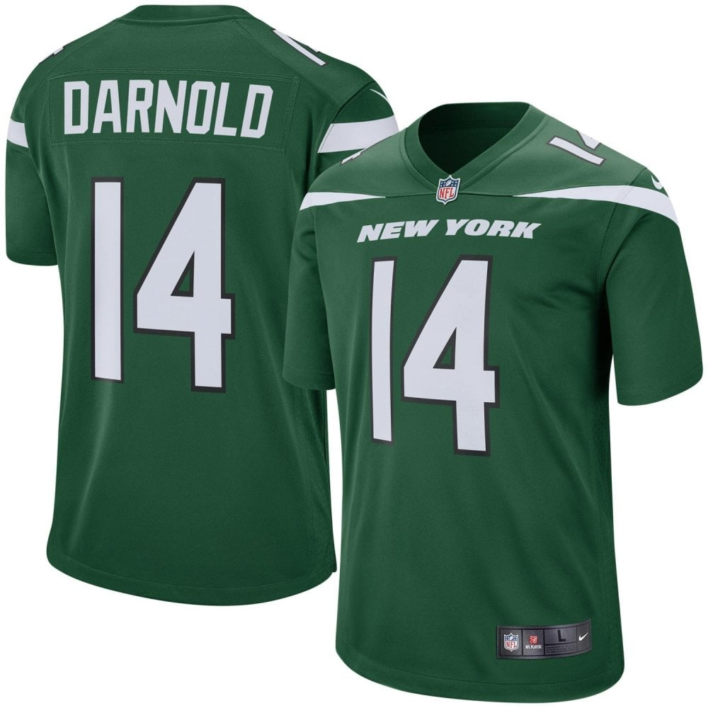 huge selection of 2ff7c c733d NFL New York Jets Home Game Jersey - Sam Darnold