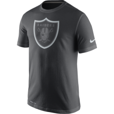 NFL Oakland Raiders Anthracite Travel T-Shirt
