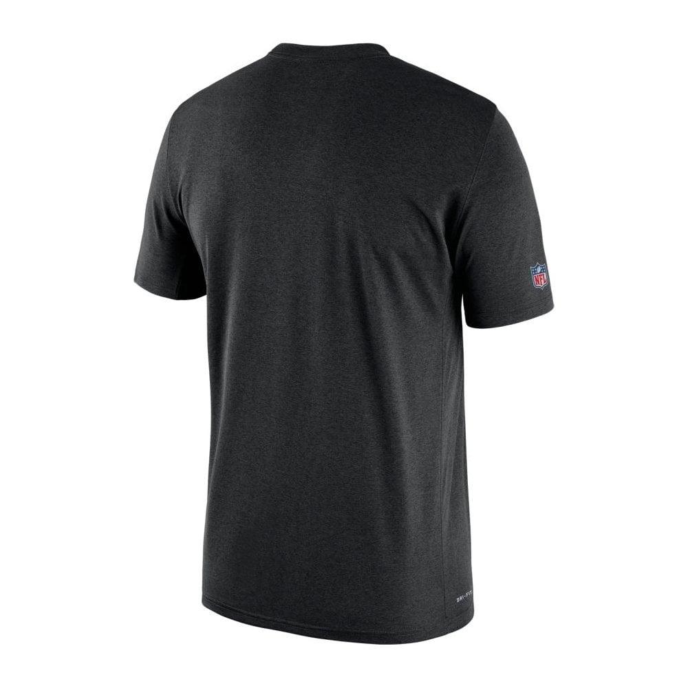81adfd708 Nike NFL Oakland Raiders Sideline Seismic Legend Performance T-Shirt ...