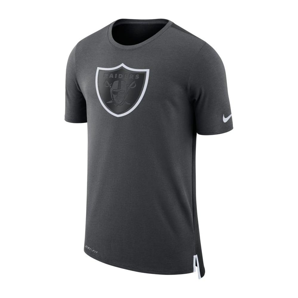 new style b7664 d5a56 NFL Oakland Raiders Travel Mesh Dri-Fit T-Shirt