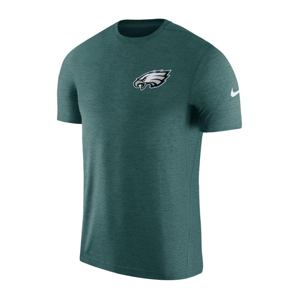 Nike NFL Philadelphia Eagles Coach Dri-Fit T-Shirt - Teams from USA ... edba70dee
