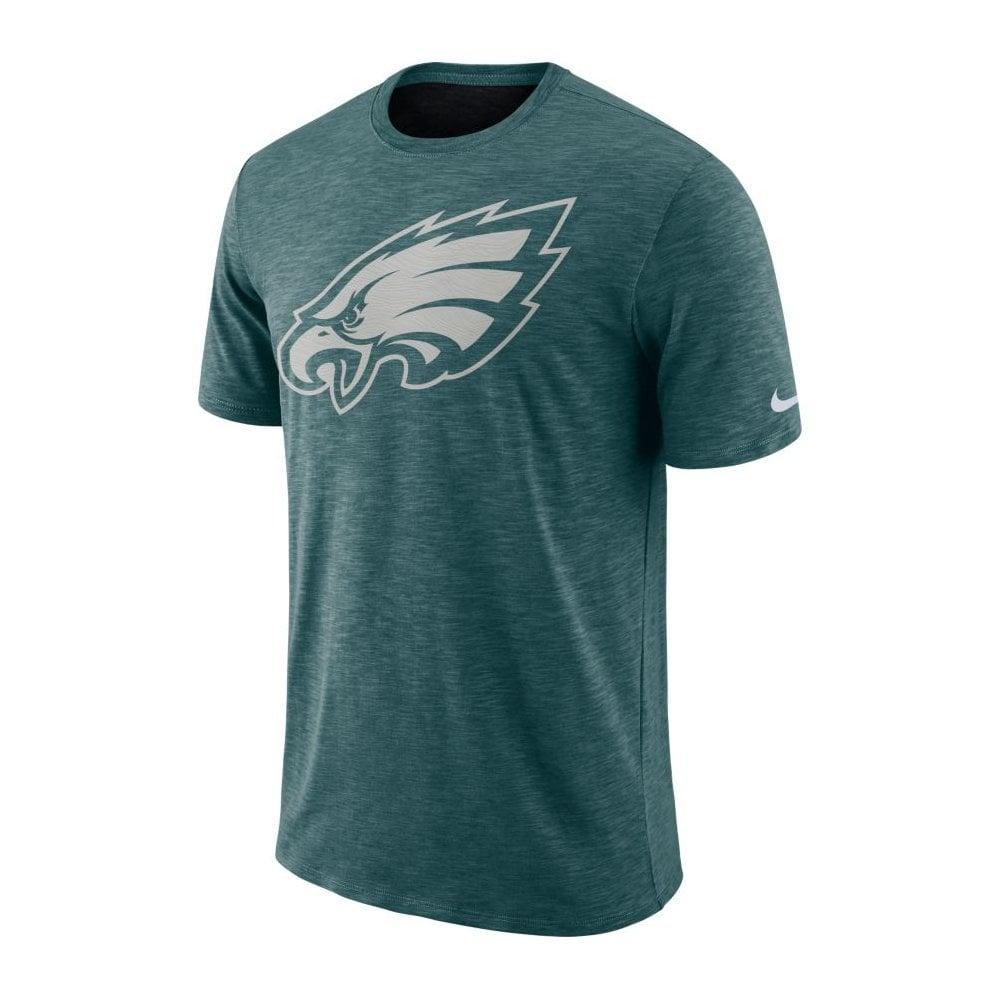 Nike NFL Philadelphia Eagles Sideline Slub Performance T-Shirt ... 97f3786f1