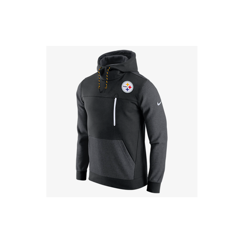 new style 21c56 4194e NFL Pittsburgh Steelers AV15 Fleece Pullover Hoodie