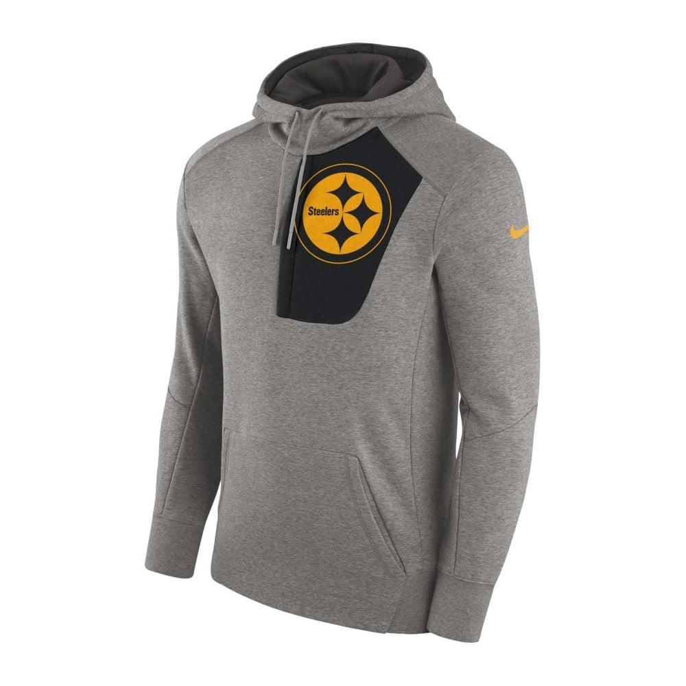 Nike NFL Pittsburgh Steelers Fly Fleece CD PO Hoodie - Teams from ... 0c29c8bbe
