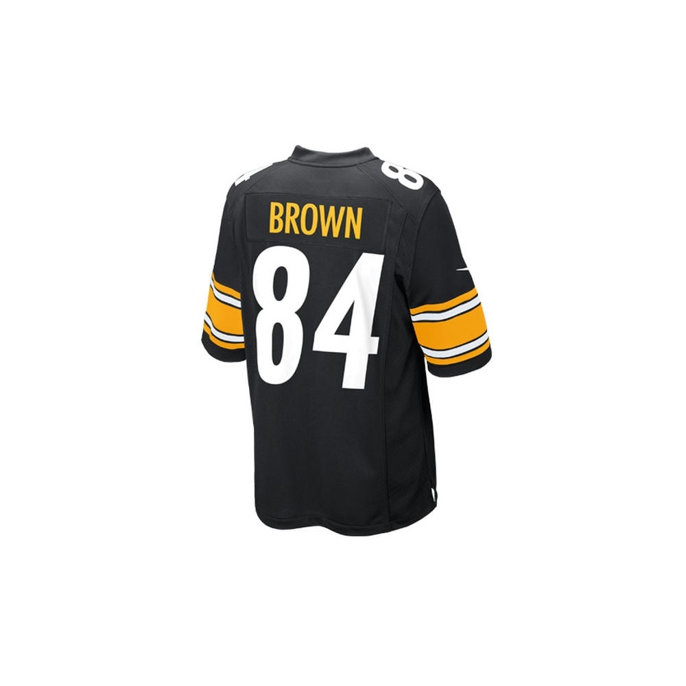 Nike NFL Pittsburgh Steelers Home Game Jersey - Antonio Brown ... a487f2ac1