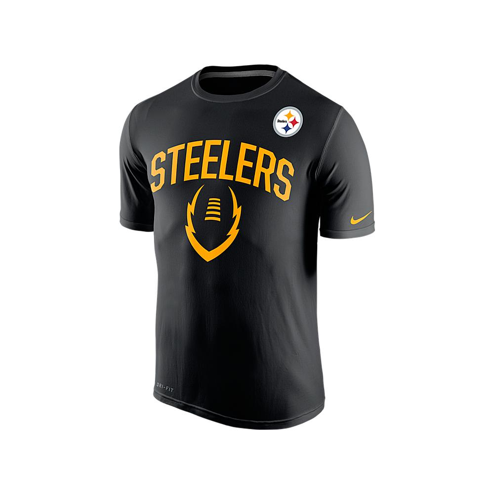 cbbb4336dca Nike NFL Pittsburgh Steelers Legend Icon Dri-Fit T-Shirt - Teams ...