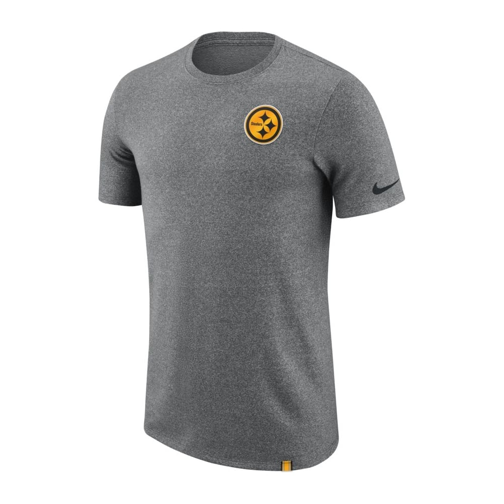 c6b331ee8c5 Nike NFL Pittsburgh Steelers Marled Patch Dri-Fit T-Shirt - Teams ...